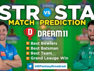 STR vs STA Dream11 Team Prediction