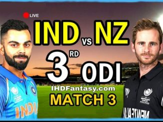 IND vs NZ 3rd ODI Dream11 Team | Match News | Playing XI | Fantasy Prediction