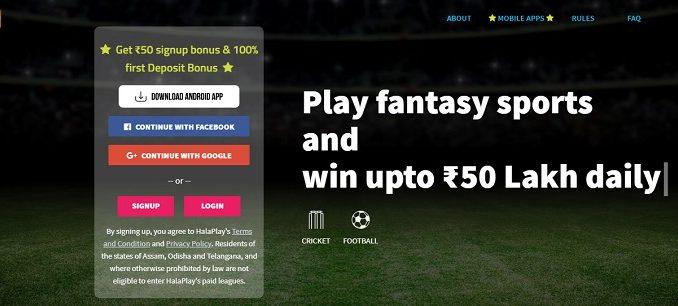 halaplay cricket fantasy app