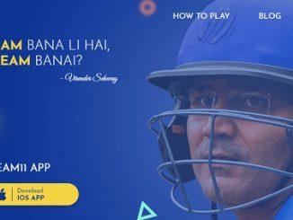 myteam11 cricket fantasy app