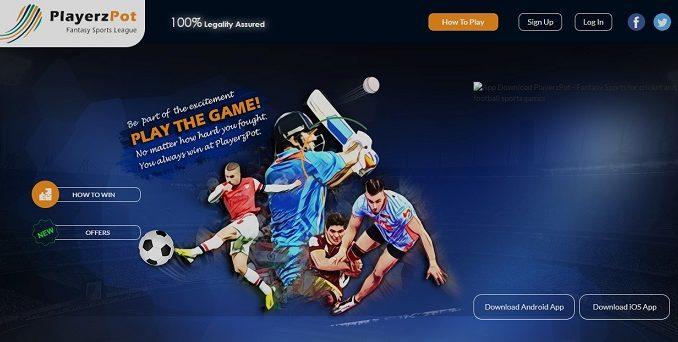 playerzpot cricket fantasy apps