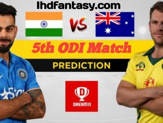 IND vs AUS 5th ODI Dream11 Team | Match News | Playing XI | Fantasy Prediction