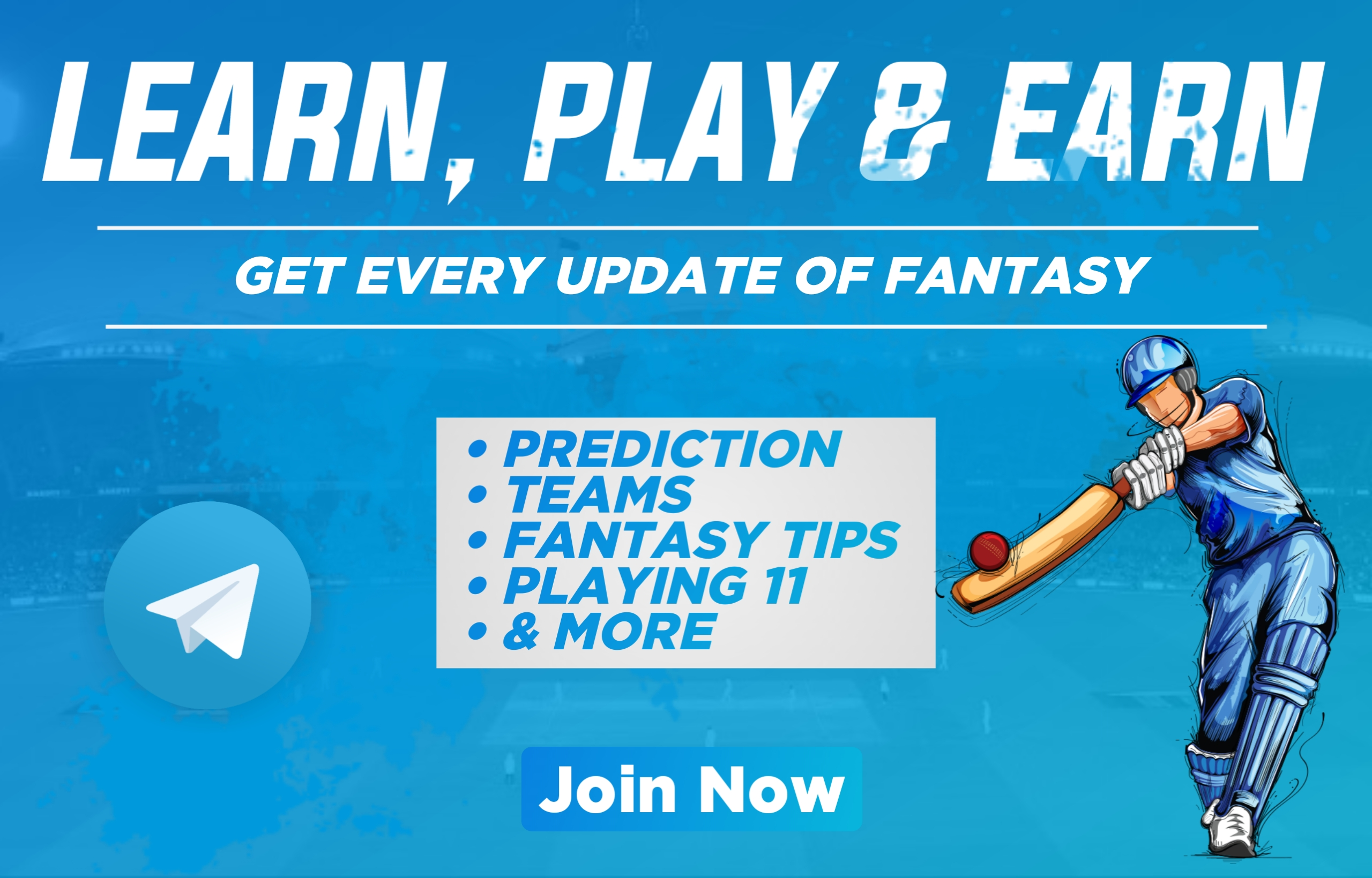 Best Fantasy Telegram Channel For Dream11 Team, Prediction