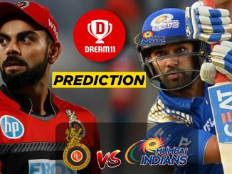 RCB vs MI IPL 2019:7th Match Dream11 Team, Fantasy Prediction & News