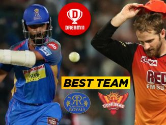 SRH vs RR IPL 2019: 8th Match Dream11 Team, Fantasy Prediction Team