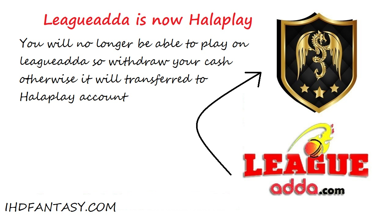 LEAGUEADDA IS NOW HALAPLAY