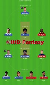 Dream 11 Head To Head Teams