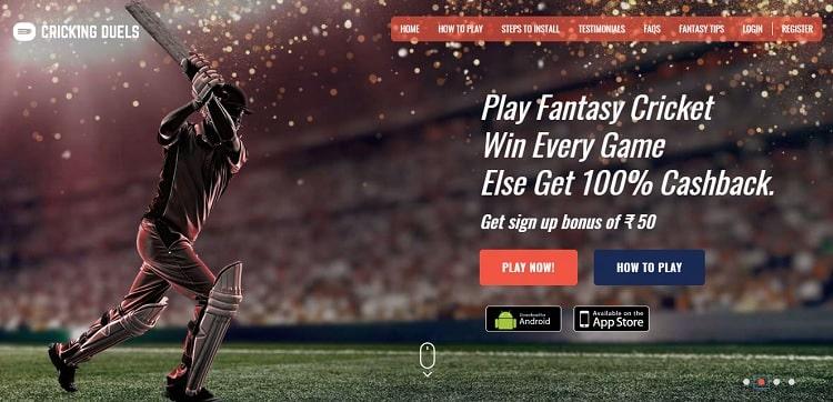 cricking duels fantasy cricket app