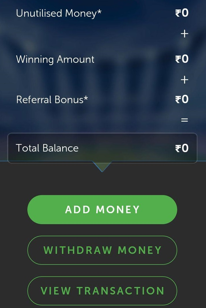 livepools withdraw money