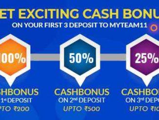 myteam11 add money offer
