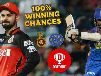 IPL 2019: RCB vs RR 14th Match Dream11 Team Prediction, Playing XI