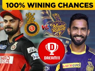 IPL 2019, 17th Match: RCB vs KKR Dream11 Team Prediction & Analaysis