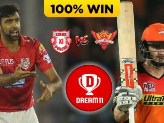 KXIP VS RCB DREAM11