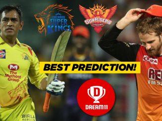 IPL 2019, Match 33: SRH vs CSK Dream11 Team, Playing XI & Prediction