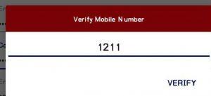 cricclash otp verification