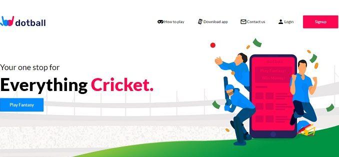 Dotball Fantasy Cricket App