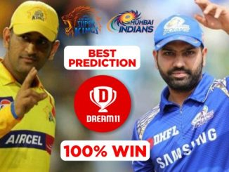 MI vs CSK Dream11 Team Prediction