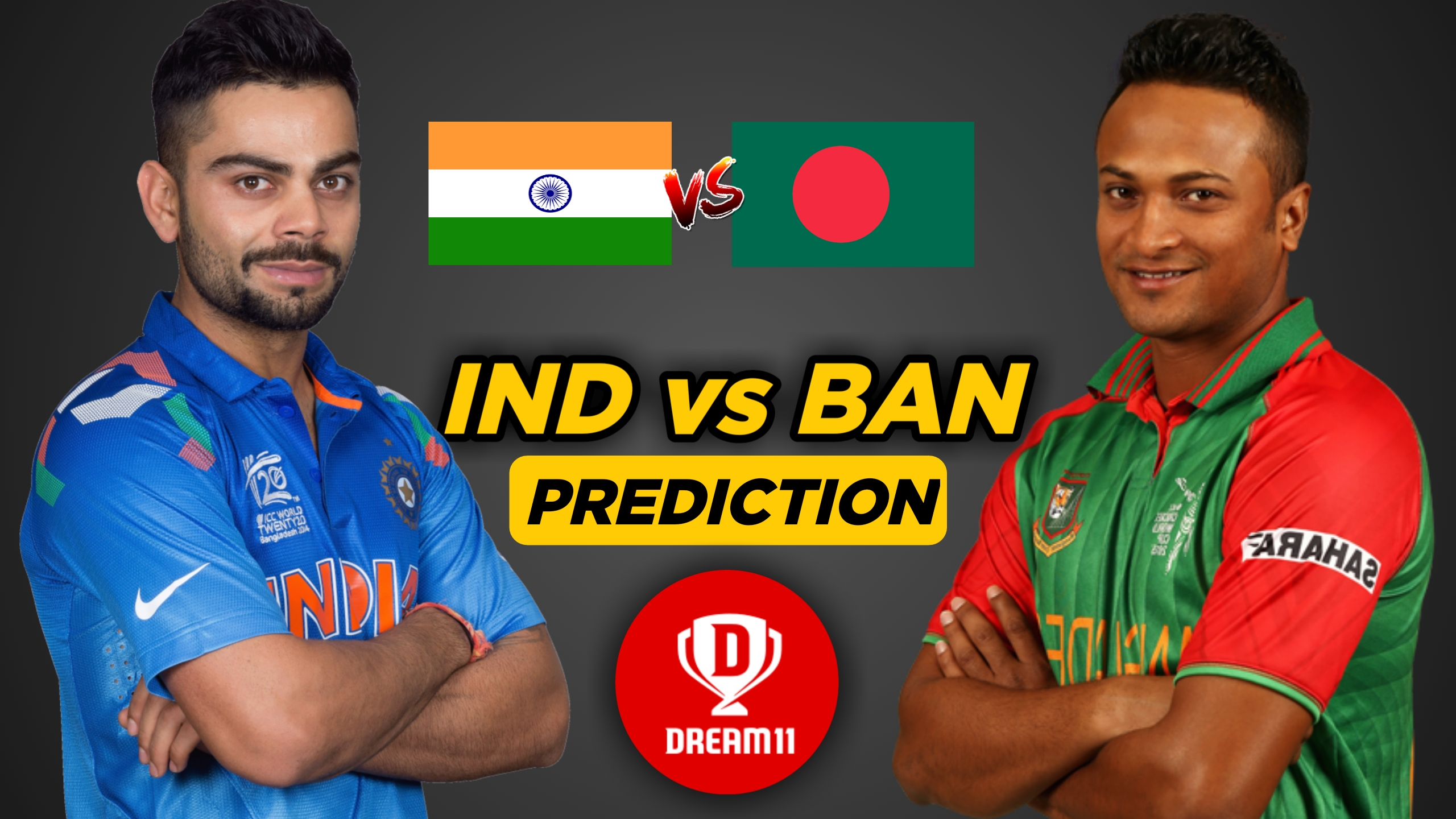 IND vs BAN 10th Warm-up – ICC Cricket World Cup 2019 Dream11 Team