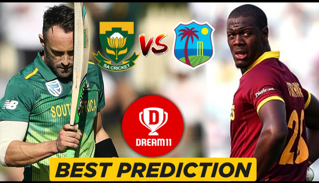 WI vs SA Warm-up game – ICC Cricket World Cup 2019 Dream11 Team