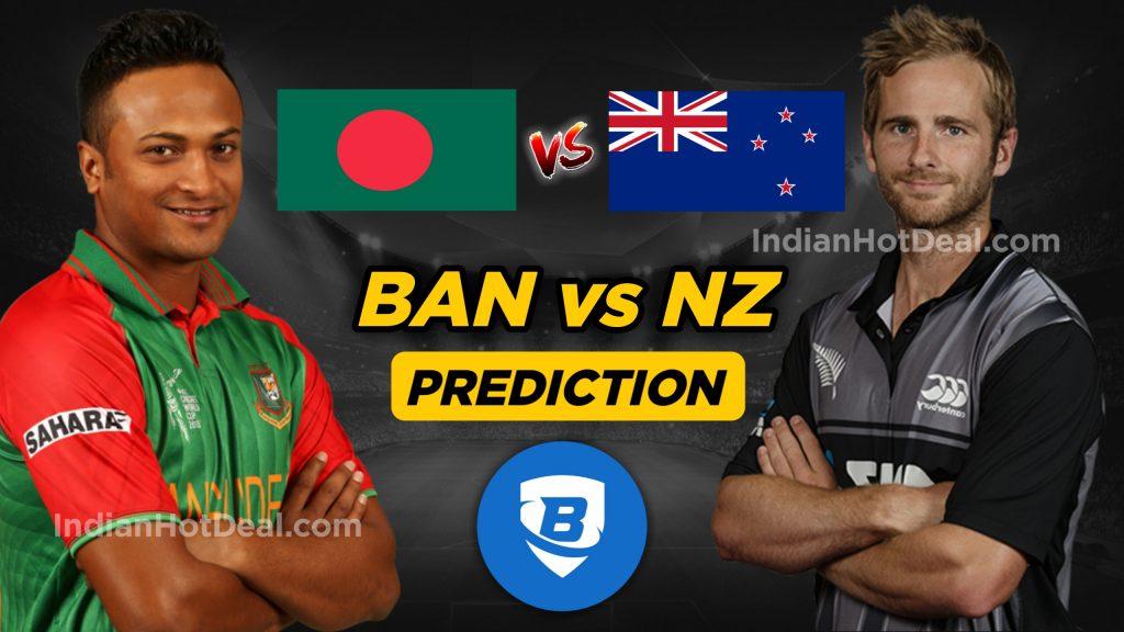 ICC World Cup 2019, BAN vs NZ , 9th Match, Dream 11 Team Predictions