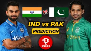 India vs Pakistan Dream11 team World Cup 2019