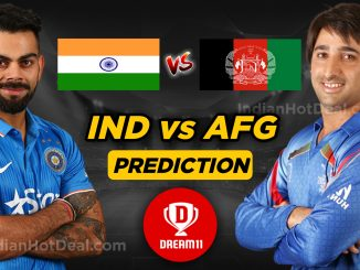 India vs Afghanistan Dream11 team World Cup 2019