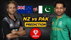 New Zealand vs Pakistan Dream11 team World Cup 2019