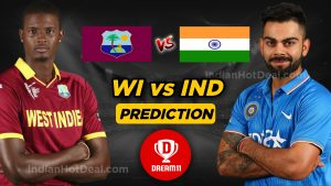 IND vs WI 3rd T20 Dream11 Team Prediction Today Match