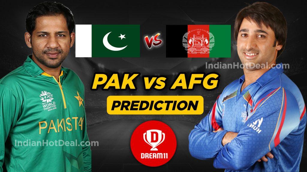 PAK vs AFG Dream11 Team Prediction - 36th Match, ICC World Cup 2019