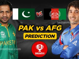 Pakistan vs Afghanistan Dream11 team World Cup 2019
