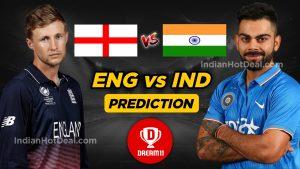 India vs England Dream11 team World Cup 2019