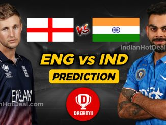 India vs England Dream11 team World Cup 2019
