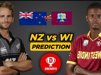 NZ VS WI dream11 team prediction