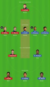 IND vs NZ Dream11 Team For Todays Warm-up Match