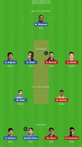 AFG vs AUS Dream11 Team Grand League