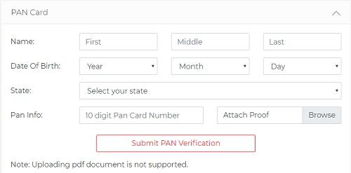 cricket++ pan verification