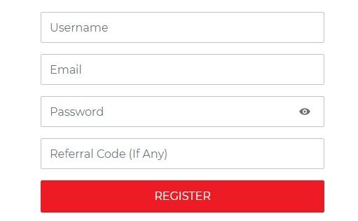 cricket++ registration form