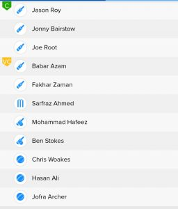 BalleBaazi Teams For PAK vs ENG Today Match