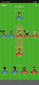 IND vs SA Dream11 Team Grand League