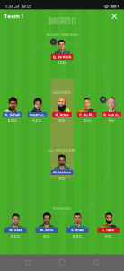 PAK vs SA Dream11 Team Grand League