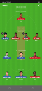AFG vs BAN Dream11 Team