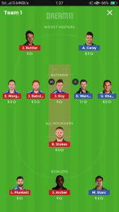 Australia vs England small league team