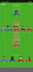 ENG vs NZ Dream11 Team Grand League