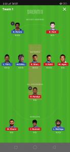 IND vs SL Dream11 Team Grand League
