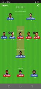 IND vs BAN Grand league team
