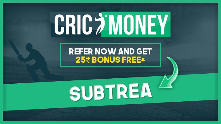 cricmoney fantasy referral code