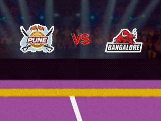 Pune vs banglore
