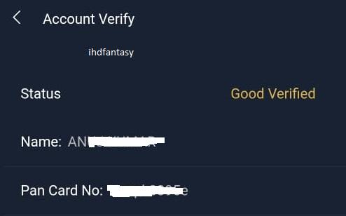 gamepind account status