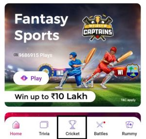 gamepind fantasy sports