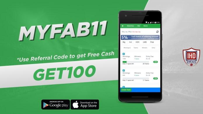 myfab11 fantasy referral code